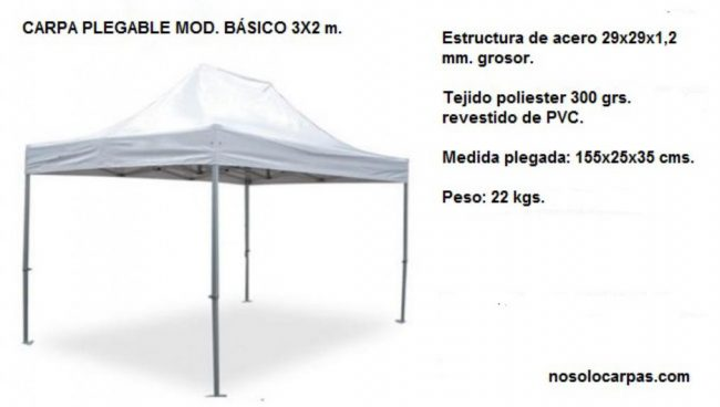 carpas-plegables-3X3-modelo-basico-acero-detalle